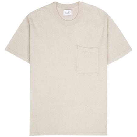 NN07 alfred 6380 tee - Grey