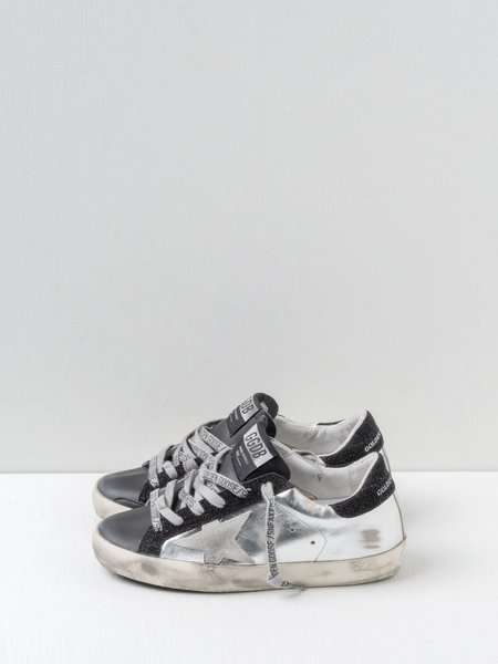 Golden Goose Super-star Laminated Upper Sneakers