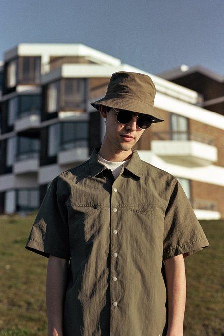 Gramicci Shell Camp Shirt - Ash Olive
