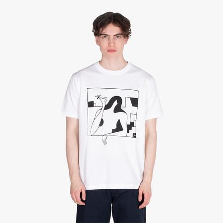 BY PARRA Lockdown Tshirt - White