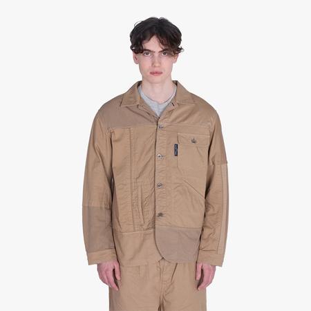 COMME des GARÇONS HOMME Shirt Jacket - brown
