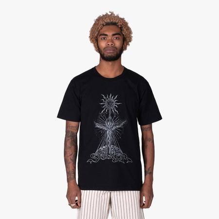 Good Morning Tapes Skyrager T-shirt - Black