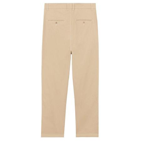 Maison Kitsuné 2 Pleats Pants - Beige
