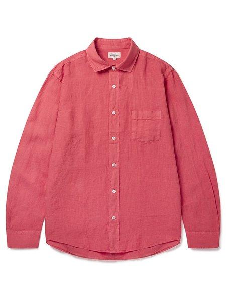 Hartford Paul Linen Shirt - Red