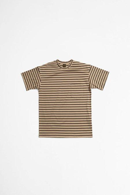 A Vontade Border T-shirt - Beige/Black