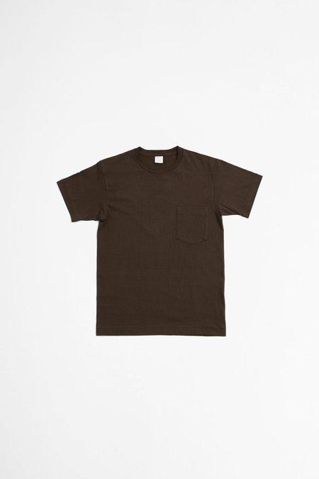 A Vontade Tube Pocket T-shirt - Chocolate