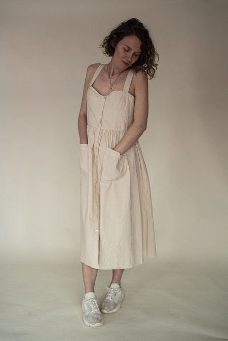 Elsa Esturgie Eclat Dress - Ecru