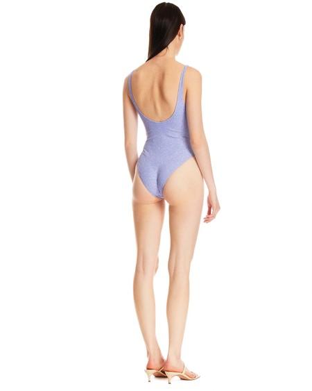 Oseree Miami Tulle One-piece Swimsuit - Lavanda