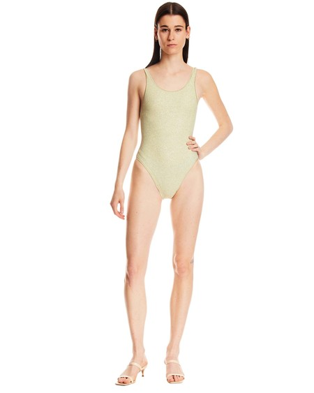OSEREE Miami Tulle One-piece Swimsuit - Green