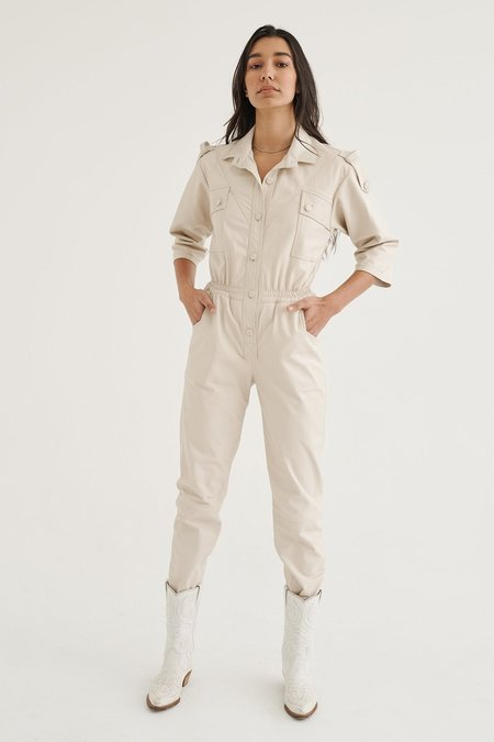 alyson eastman Dreamer Jumpsuit - Cream