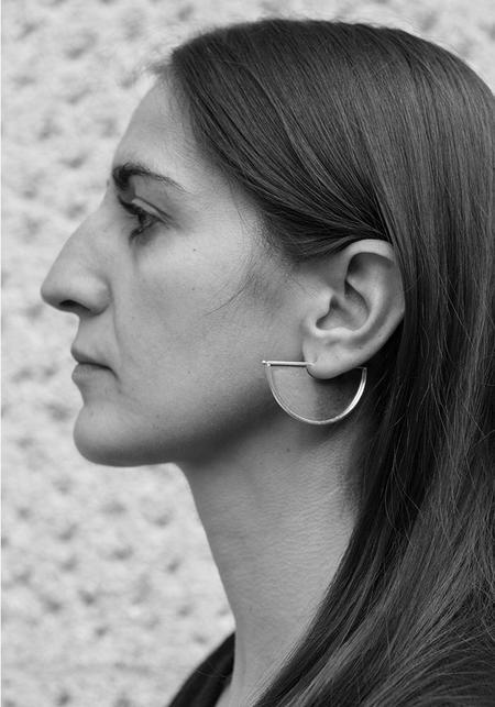 Suna Full Circle Earrings - Sterling Silver