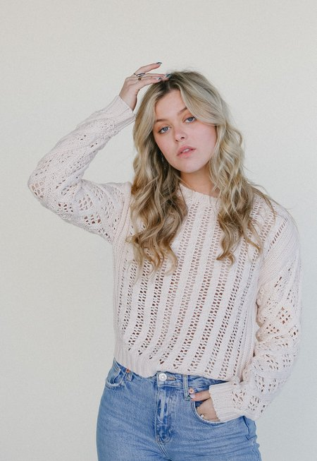 Line the Label Indra Sweater - Pearl