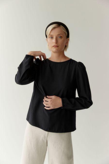 Mina Forge Top - Black