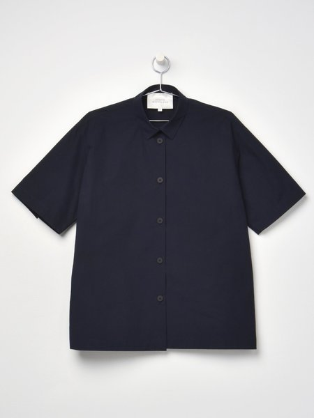 Studio Nicholson Short Sleeve Shirt - Dark Navy