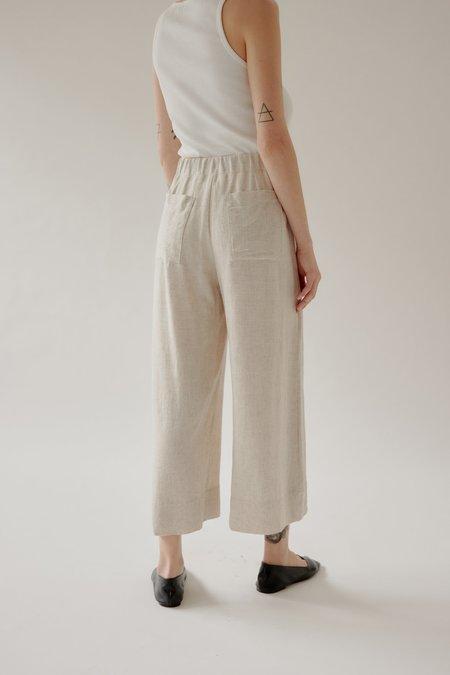 Mina Mali Cropped Pant - Stone Marle
