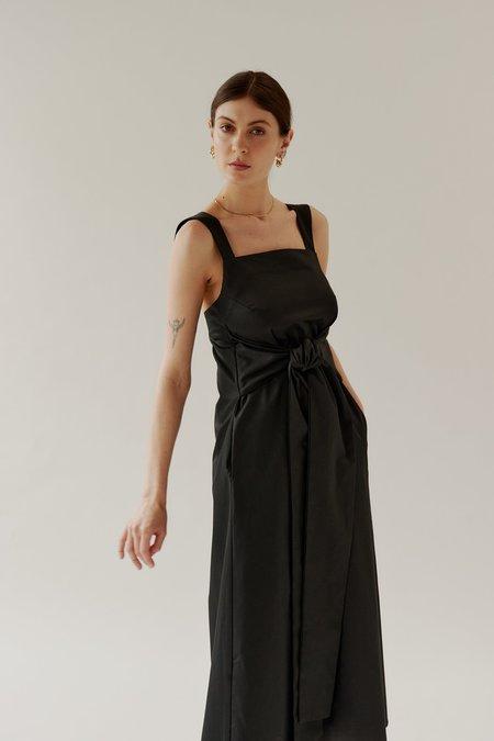 Mina Tilly Dress - Black