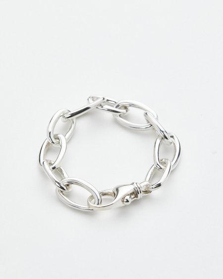 Luz Oritz Classic Chain Bracelet - Silver