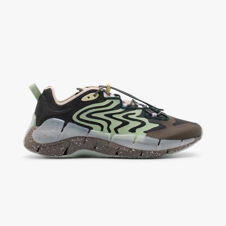 Reebok x Brain Dead Zig Kinetica II Sneakers - True Grey