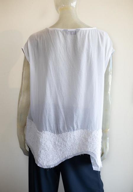 Moyuru Cap Sleeve Cotton Blouse