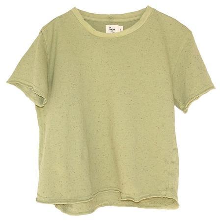 Kids Nico Nico Kenzie T-shirt - Confetti Artichoke Green