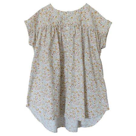 Kids Nico Nico Nova Dress - Floral Print Cream