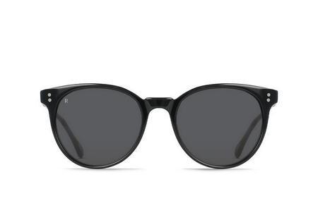 Raen Norie Sunglasses - Crystal Black/Smoke