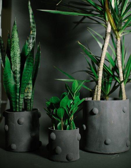 Crybaby Clay Bumpy Planters - Black