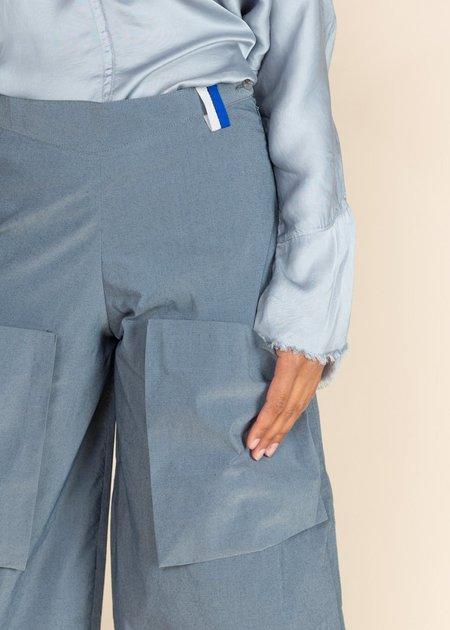 Echappees Belles Cotton King Trouser - Blue