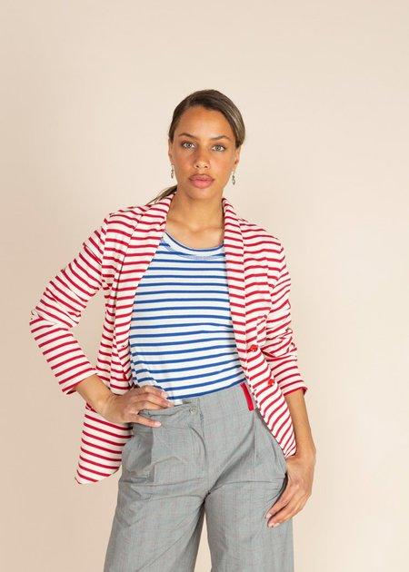 Echappees Belles Karma Jacket - Red Stripe