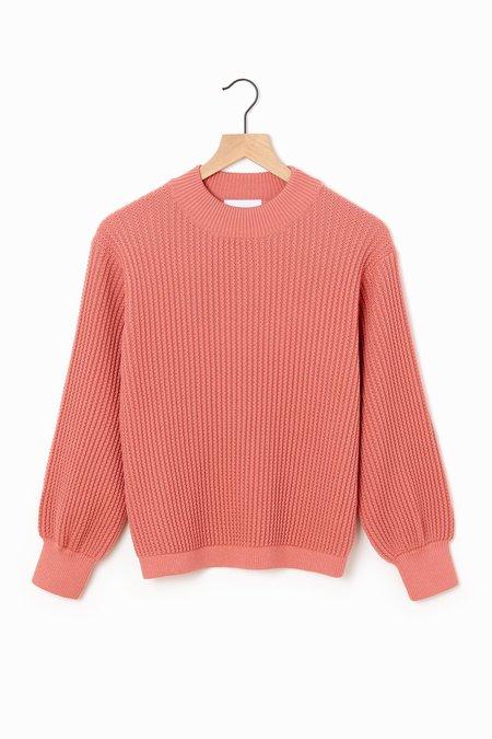 Molli Ondine Crewneck Sweater - Blush