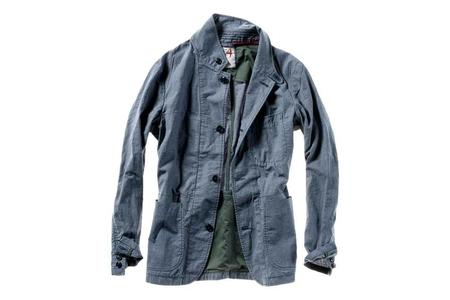 Relwen Trop Field Blazer - Navy Mini Tick Check