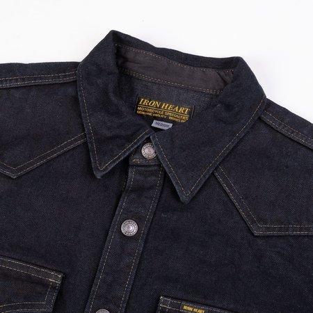 Iron Heart IHSH-293 Overdyed Vintage 18oz Denim CPO shirt - Indigo