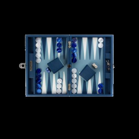 Hector Saxe Backgammon Camille Gitane Couture Small - Blue