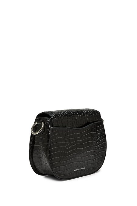 Rebecca Minkoff Small Jean Saddle Bag - black