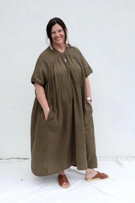 Atelier Delphine Lihue Dress - Hunter Green