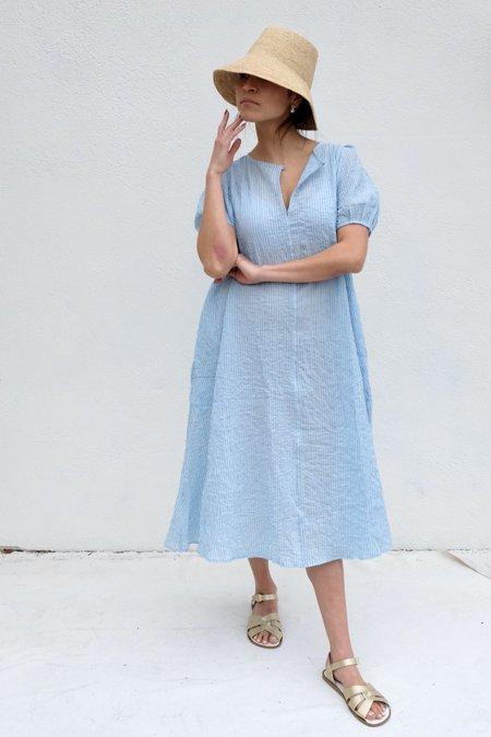 Pietsie Springs Dress - Pale Blue Stripe