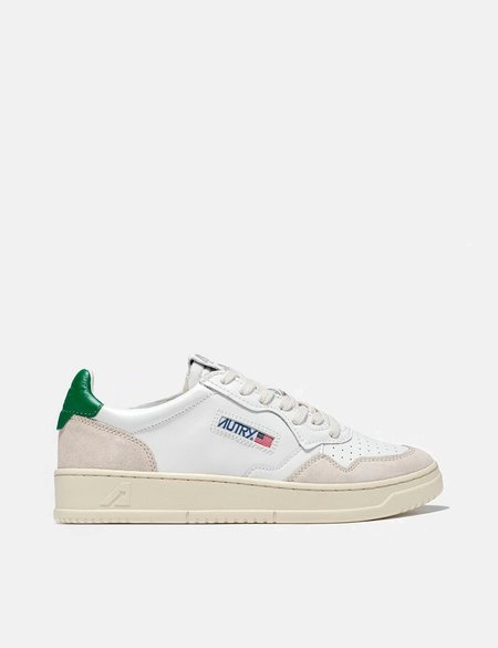 Autry Medalist LS23 Trainers - White/Green