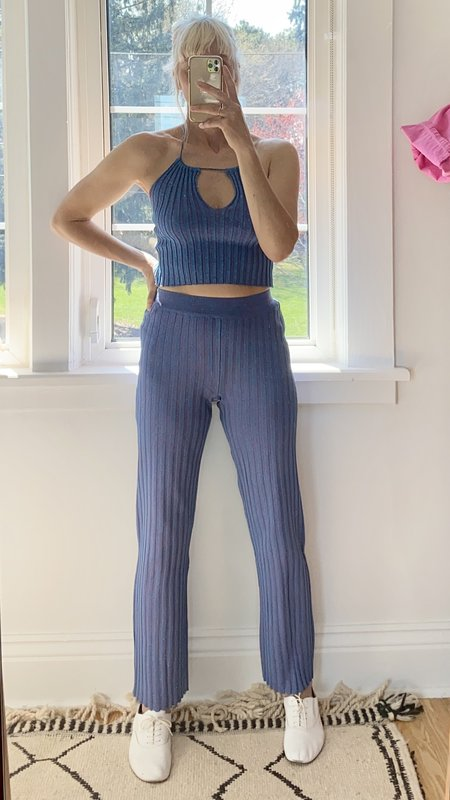 Paloma Wool Fromthe Rib Pant - Blue