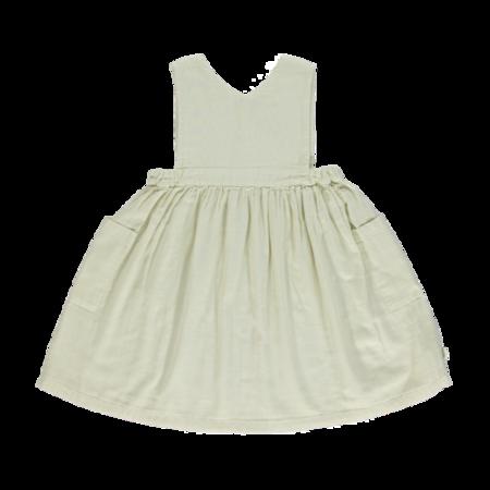 kids Poudre Organic Mangue Dress - Almond Milk