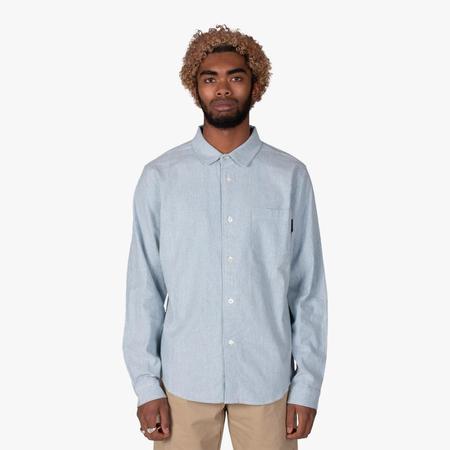 Livestock Button Up Shirt - Light Blue