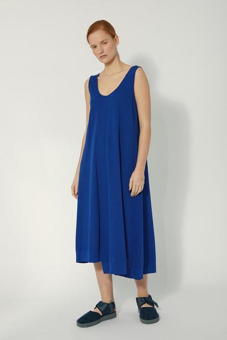 Oyuna Knitted Sleeveless Dress - Blue