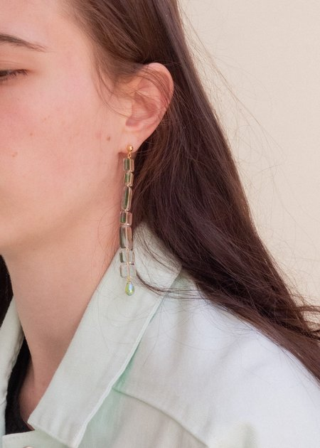 Paloma Wool Lizzie Earring - clear