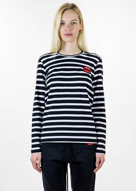 Markus Lupfer Alex Lip Stripe Long Sleeve