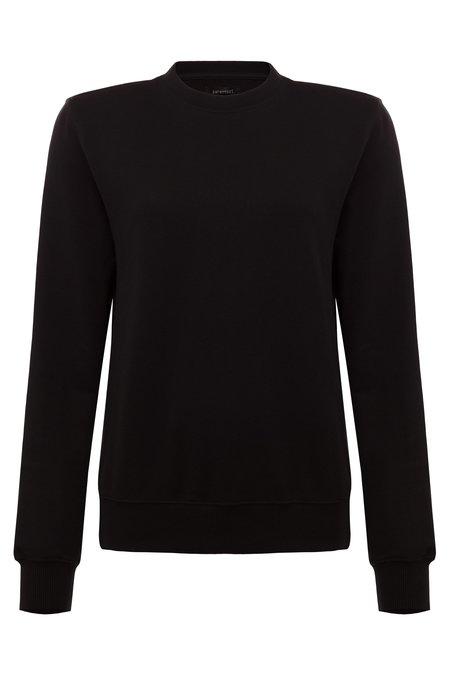 Parentezi Crew Neck Sweater With Removable Shoulder Pad