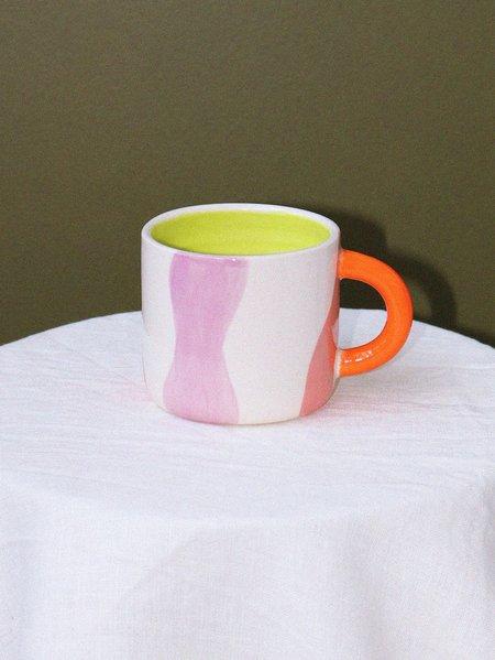Mosey Me Arcadia X Mosey Handled Mug - Wave