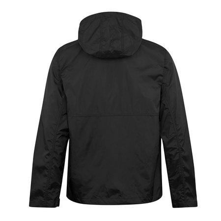 Obey Global Hooded Anorak Jacket - Black