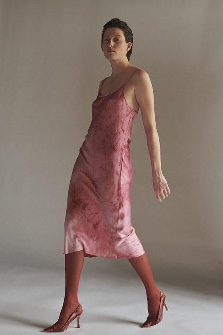 KES Minimal Slip Dress - Acid Lime