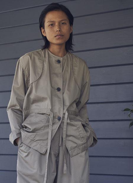 Grei. Harmony Tie Jacket - Khaki