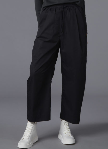 GREI. OVATE BAGGY PANT - BLACK
