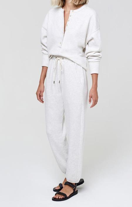 Citizens of Humanity Laila Casual Fleece Pants - Oatmeal